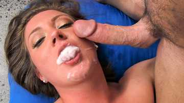 Hardcore pussy fucking with Maddy O'Reilly ends up stuffing cum in mouth